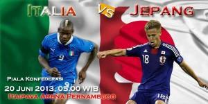 italia vs jepang piala konfederasi