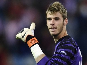 Atletico Madrid's goalkeeper David de Ge