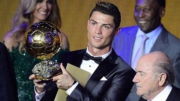 fakta menarik CR7 dan ballon d'or 2013 | Berita Bola