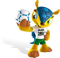Mengenal 'Fuleco' Maskot Piala Dunia 2014 Brasil | Berita Bola