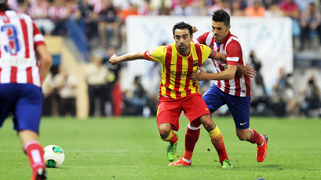 xavi vs atletico